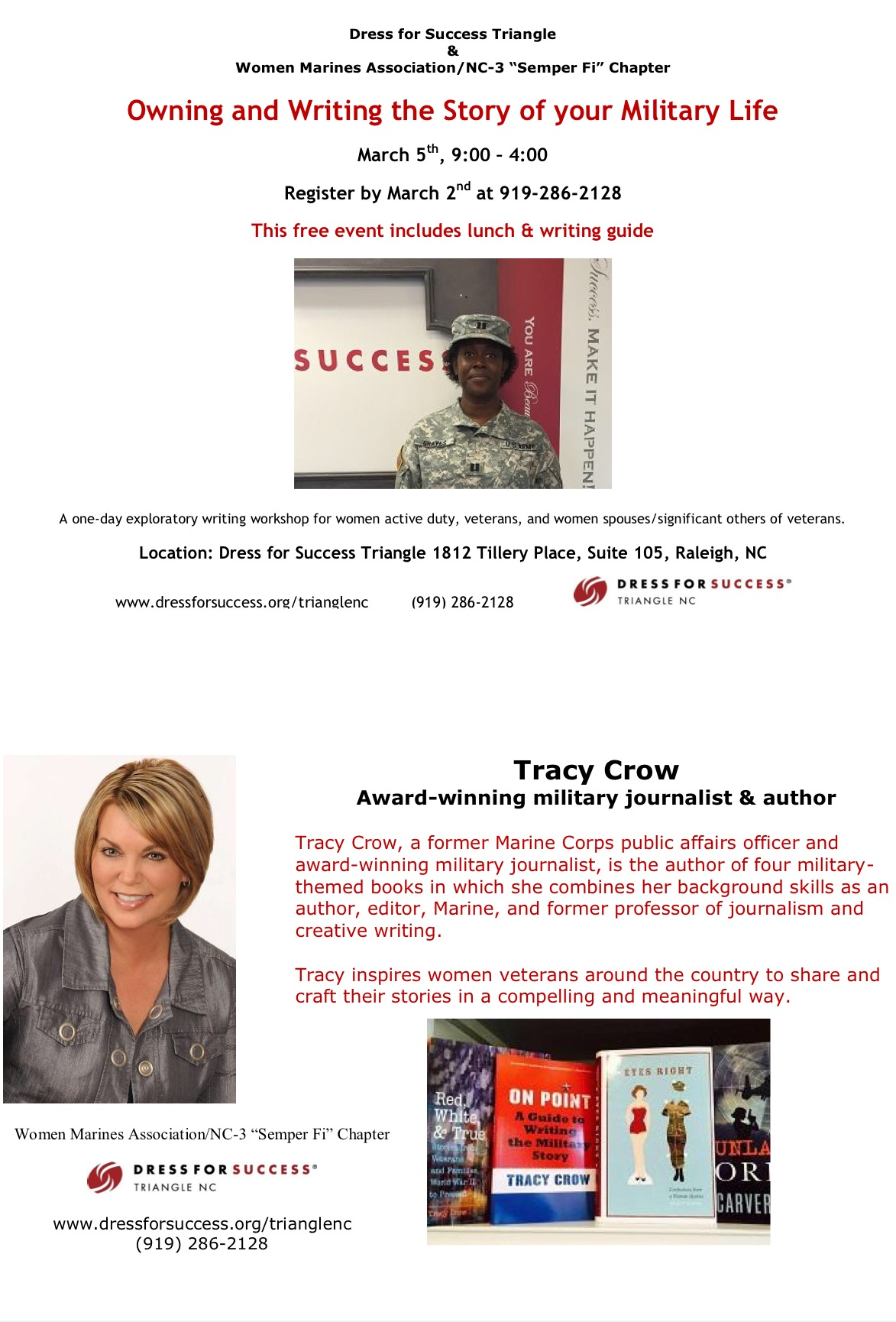 tracy crow page author speaker writing instructor editor fullsizerender 1 dress for success triangle